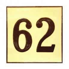 Número cerámico 2 cifras