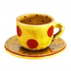 Taza y plato Cafè Puntos