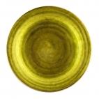 Plato Poste Liso verde