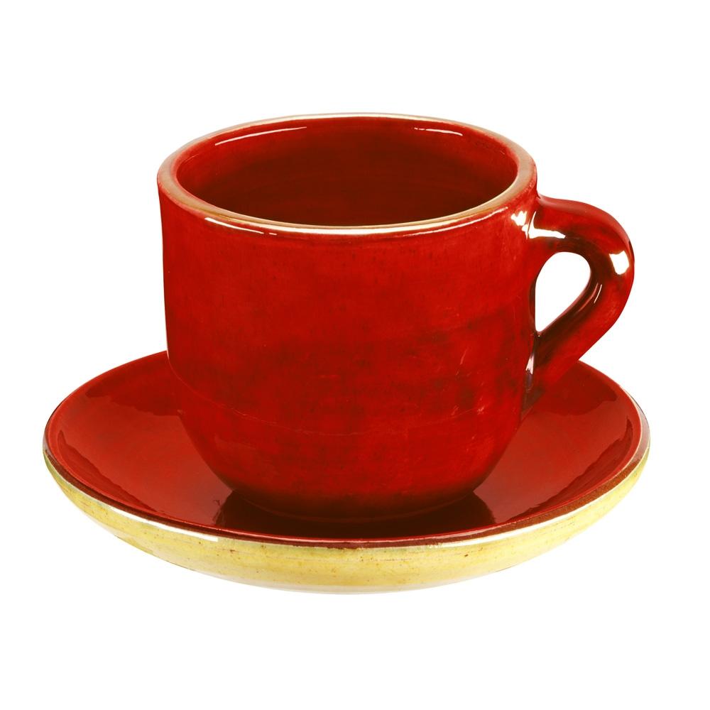 Taza y plato te lisa cer mica bosch s a for Tazas de te inglesas
